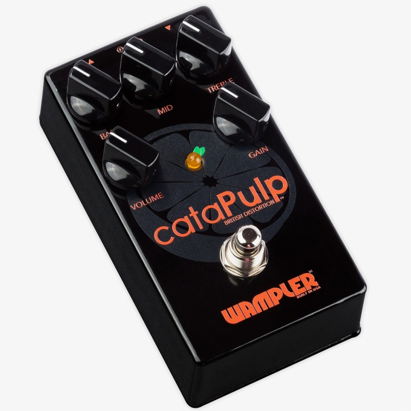 pitbull audio wampler catapulp v2 british distortion guitar effect pedal. Black Bedroom Furniture Sets. Home Design Ideas