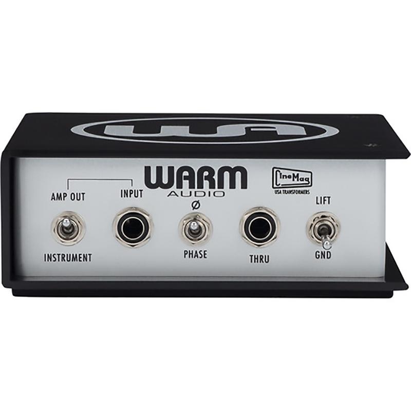Warm Audio WA-DI-A Active Direct Box, CineMag USA Transformers, Variable Pad Knob