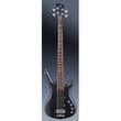 Warwick Rockbass Corvette Basic 4-String Bass, Nirvana Black Transparent Satin