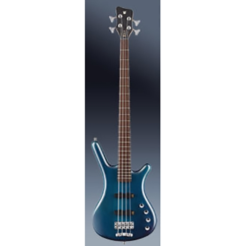 Warwick Rockbass Corvette Basic 4-String Bass, Ocean Blue Transparent Satin