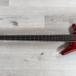 Warwick Custom Shop Thumb BO 4-String Bass, Flame French Ash