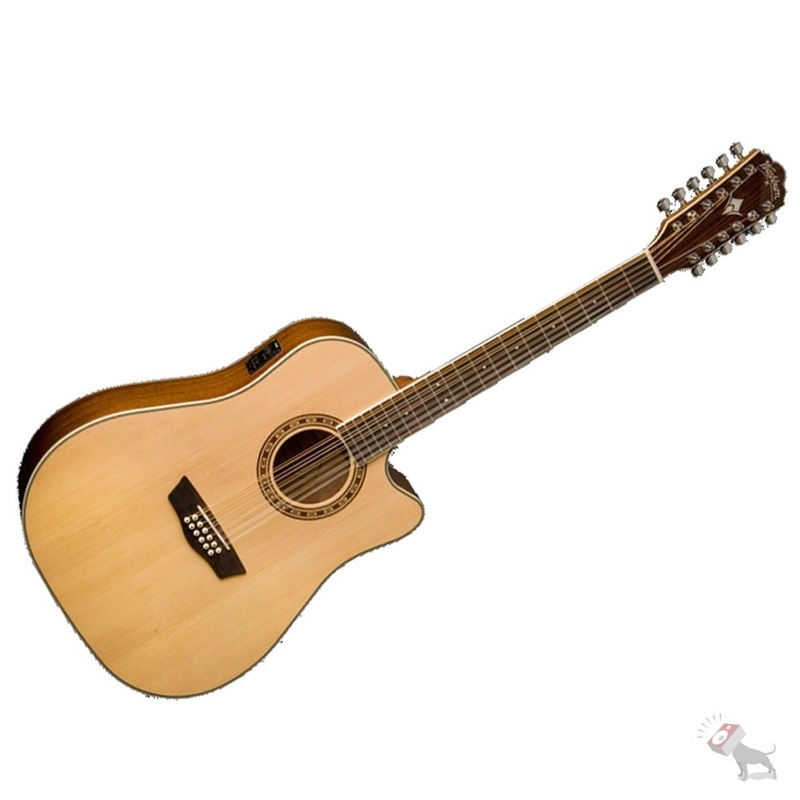 Washburn WD10SCE12 12-String Acoustic Guitar