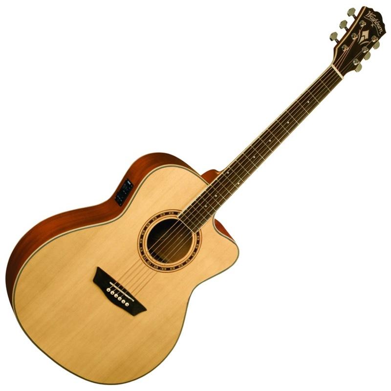 Washburn WG10SCE Acoustic Electric Guitar