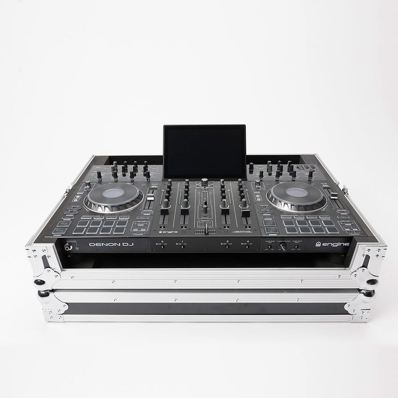 Magma Cases DJ-Controller Case for Denon Prime 4, 9mm Plywood Road Case