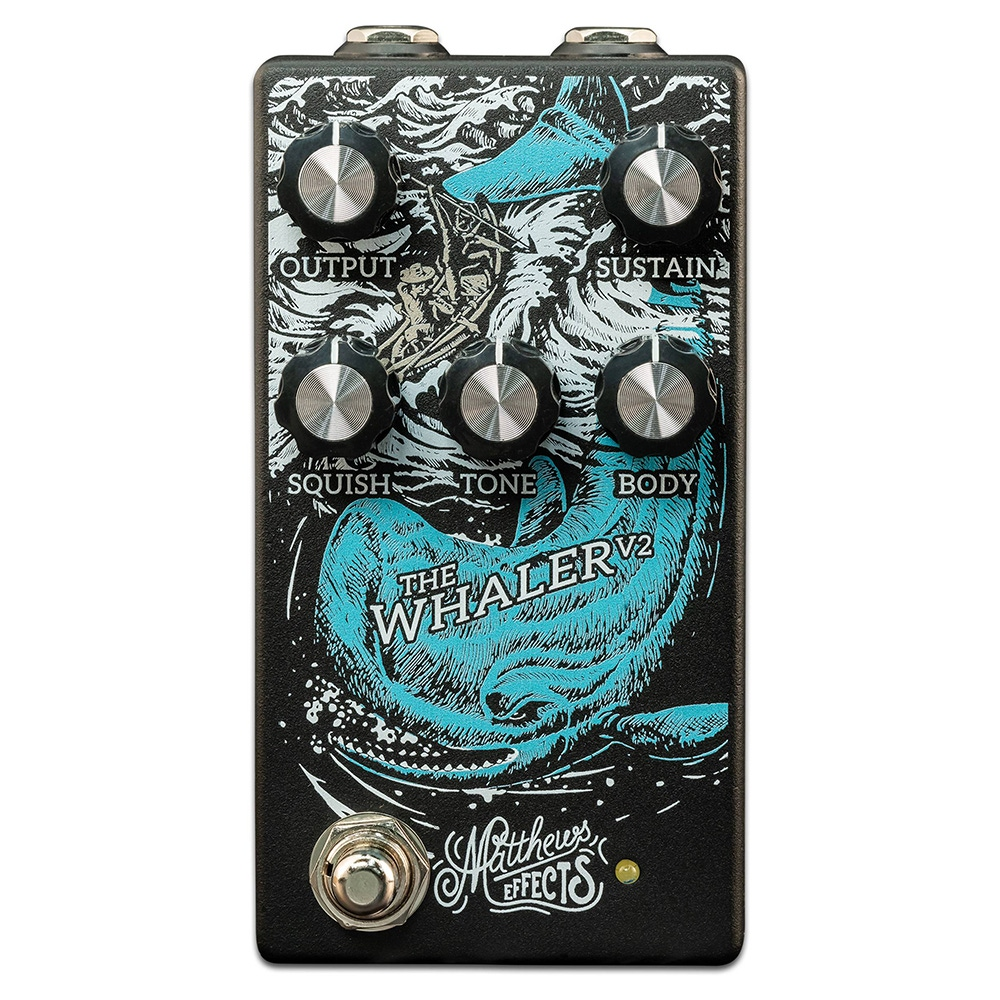 pitbull audio matthews effects whaler v2 fuzz guitar effects pedal. Black Bedroom Furniture Sets. Home Design Ideas