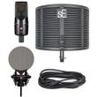 SE Electronics X1 S Studio Bundle   Microphone, Reflection Filter, Pop Filter, Cable