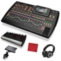 Behringer X32 Digital Mixing Console with Powerplay P16-M Mixer, Mounting Bracket, and M50X Headphones