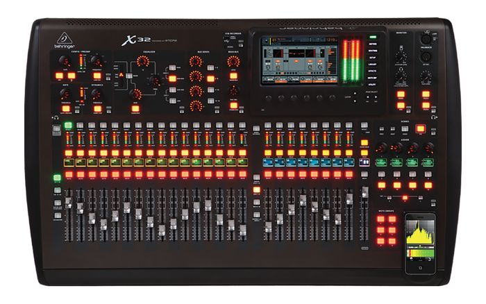 Behringer X32 40-Input, 25-Bus Digital Mixing Console, 32-Channel Audio Interface with MIDAS Preamps