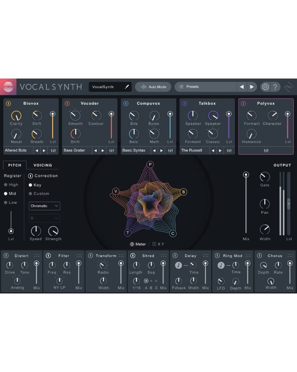 iZotope VocalSynth 2 (Digital Download)