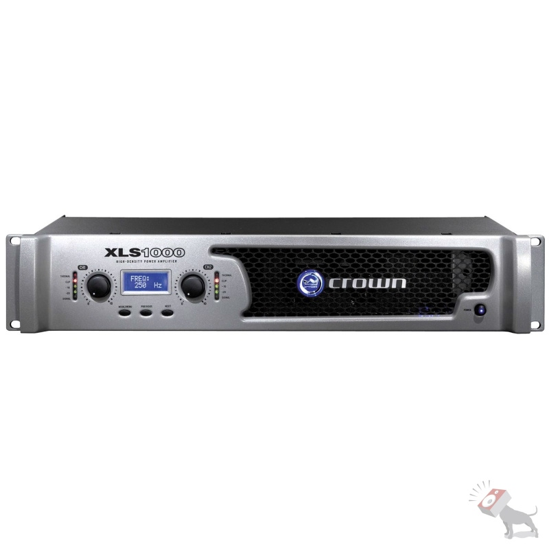 Crown XLS1000 Drivecore Power Amplifier XLS 1000 Powered Amp PA Stereo
