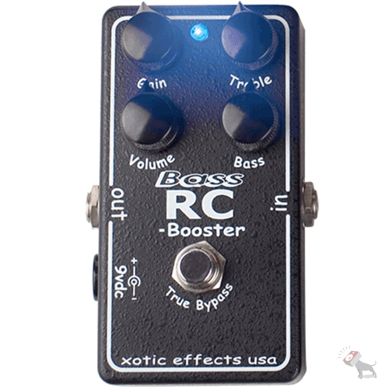 Xotic Bass RC Booster Transparent Boost Effect for Electric Bass Guitars