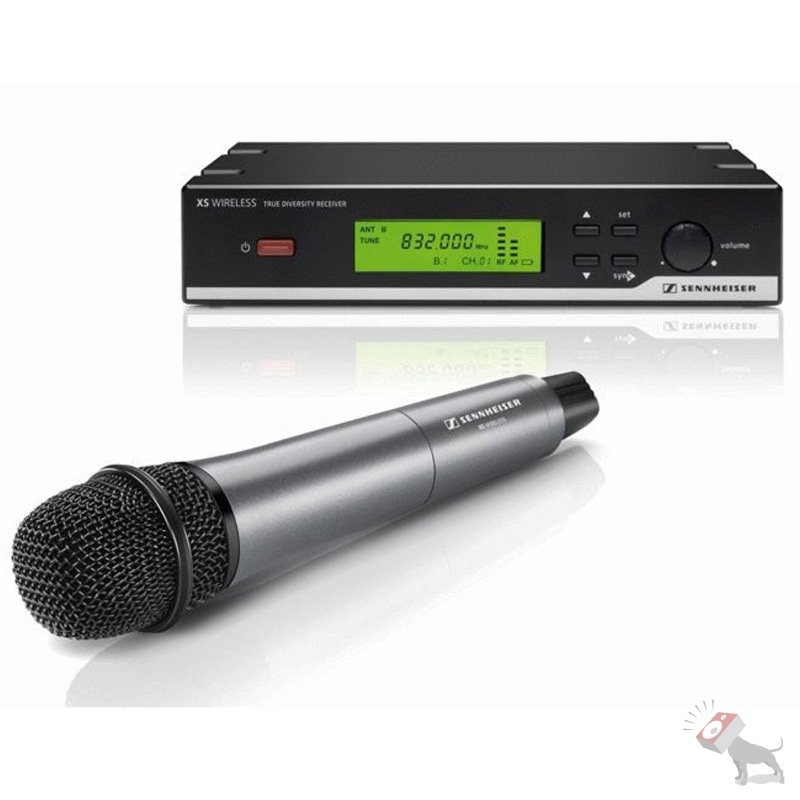 Sennheiser XSW 35-A Wireless Mic Vocal Set e835 Sound Microphone System XSW35A