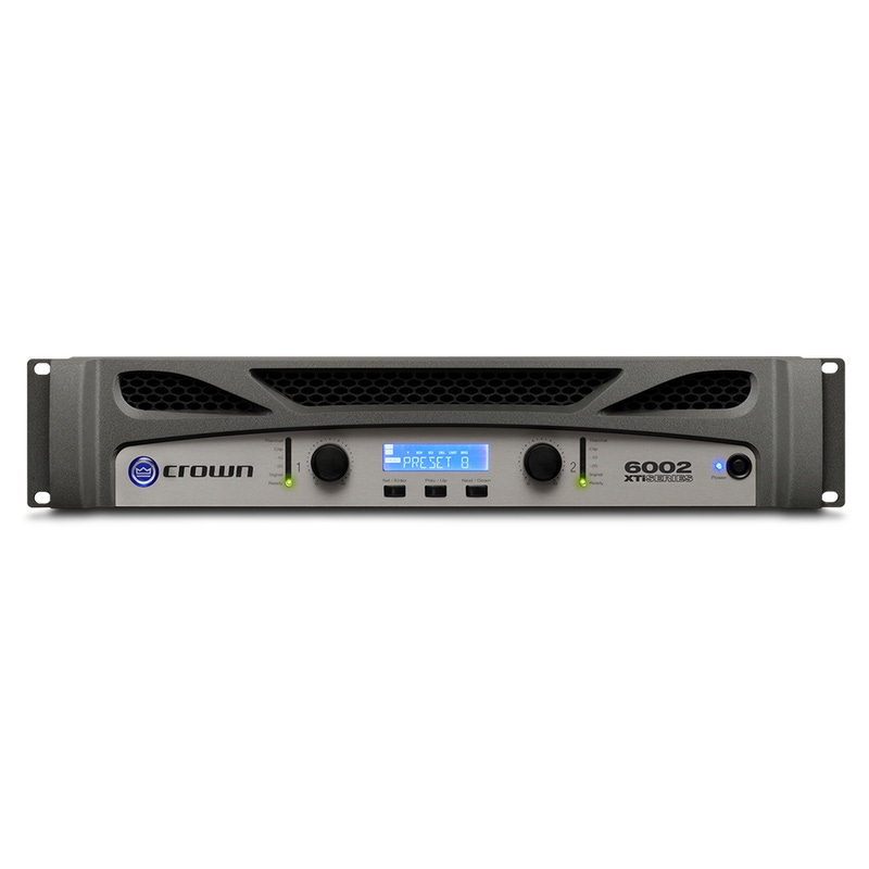 Crown XTI 6002 Digital Power Amplifier Powered Amp PA 2 channel XTI6002