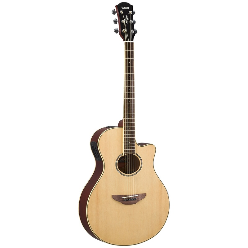 Yamaha APX600 Thinline Acoustic-Electric Guitar - Natural