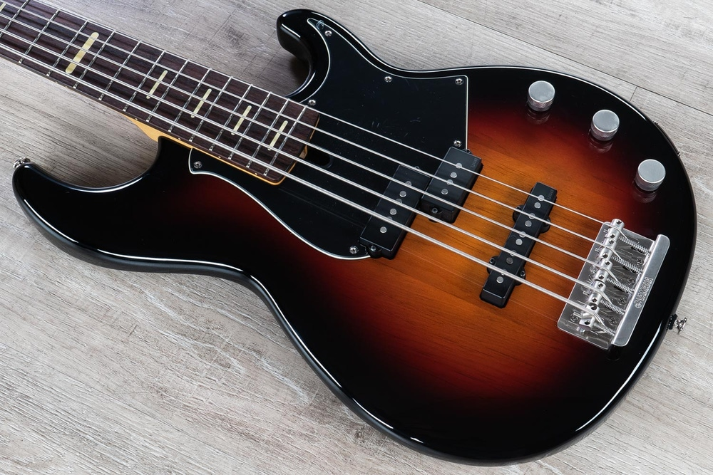 Yamaha B-Stock BB Pro Series BBP35 5-String Bass Guitar, Vintage Sunburst