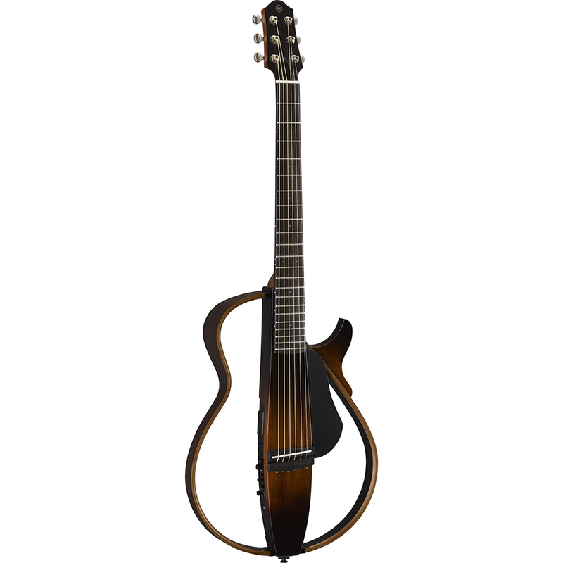 Yamaha SLG200S Steel-String Silent Guitar in Tobacco Brown Sunburst