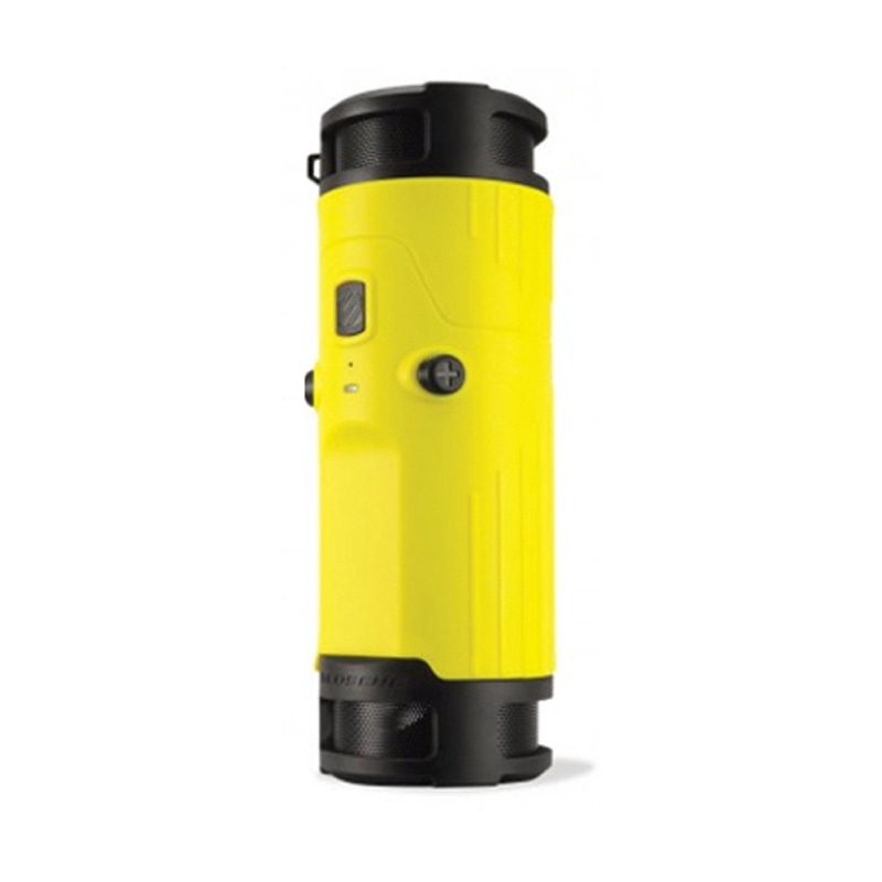 SCOSCHE BTBTLY boomBOTTLE Weatherproof Wireless Speaker (Yellow)