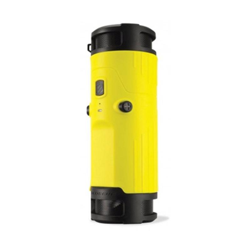 SCOSCHE BTBTLY boomBOTTLE Weatherproof Wireless Speaker (Yellow)