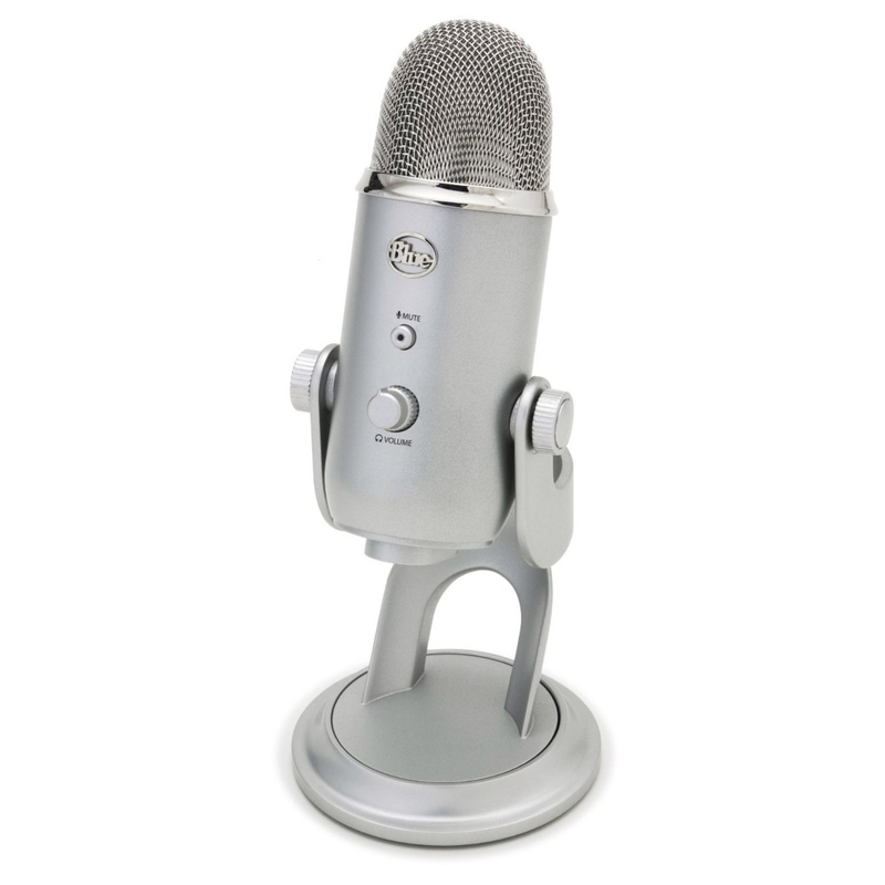 Blue Microphones Yeti All Purpose USB Recording Microphone
