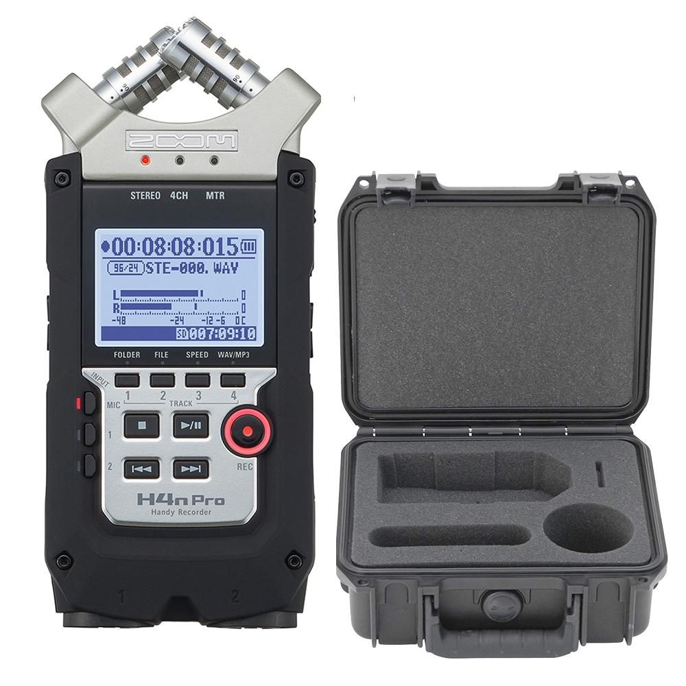 Zoom H4n Pro Handy Recorder W Skb Hard Case