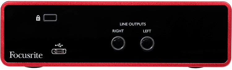 Focusrite Solo Rear